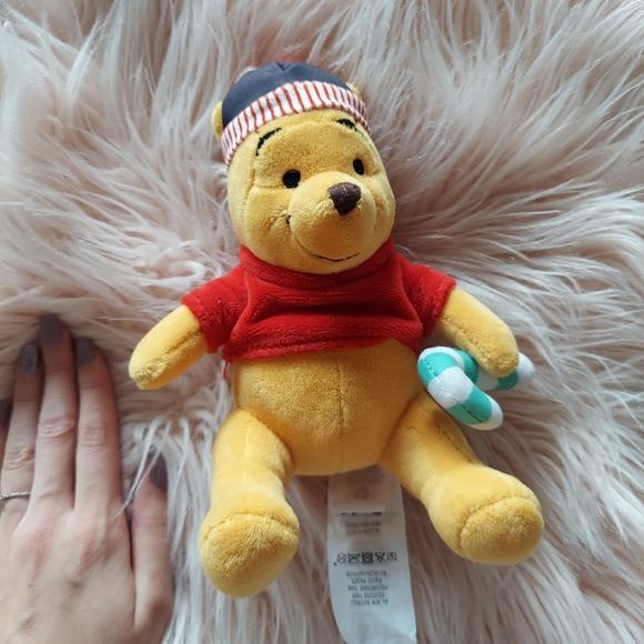 Disney Christmas Winnie the Pooh Plush